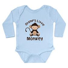 Gramps Grandchild Monkey Long Sleeve Infant Bodysu