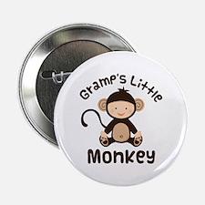 "Gramps Grandchild Monkey 2.25"" Button"