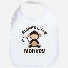 Gramps Grandchild Monkey Bib