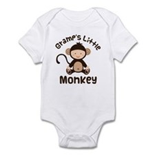Gramps Grandchild Monkey Infant Bodysuit