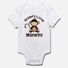 Gramps Grandchild Monkey Infant Bodysuit