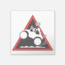 BAJA BUG WHEELIES Danger Sticker