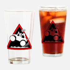 BAJA BUG WHEELIES Danger Drinking Glass