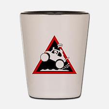 BAJA BUG WHEELIES Danger Shot Glass
