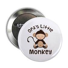 "Opa Grandchild Monkey 2.25"" Button"
