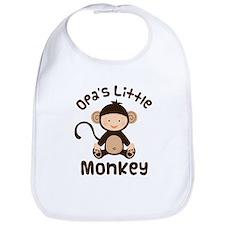 Opa Grandchild Monkey Bib