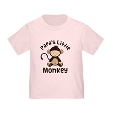 Papa Grandchild Monkey T