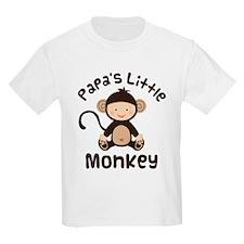 Papa Grandchild Monkey T-Shirt