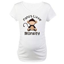 Papa Grandchild Monkey Shirt