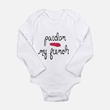 Pardon My French - with beret Body Suit