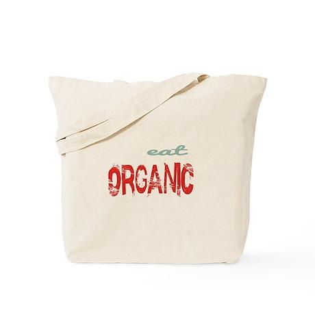 eat Organic Tote Bag