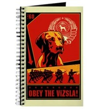 Obey the Vizsla! #2 Journal