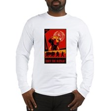 Obey the Vizsla! #2 Long Sleeve T-Shirt