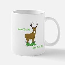 Unique Chicks dig me Mug
