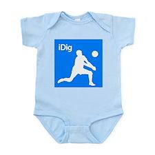 iDig Infant Bodysuit