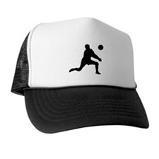 Volleyball Dig Silhouette Trucker Hat