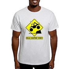BAJA BUG JUMPING Road sign T-Shirt