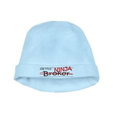 Job Ninja Broker baby hat