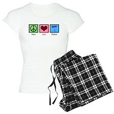 Peace Love Weather Pajamas