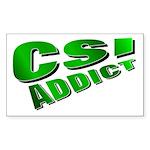 CSI Rectangle Sticker