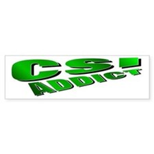CSI Bumper Bumper Sticker