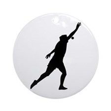 Shot Put Ornament (Round)