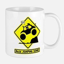 BAJA BUG JUMPING Road sign Mug