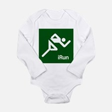 iRun Long Sleeve Infant Bodysuit