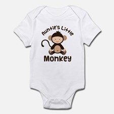 Auntie Monkey Infant Bodysuit