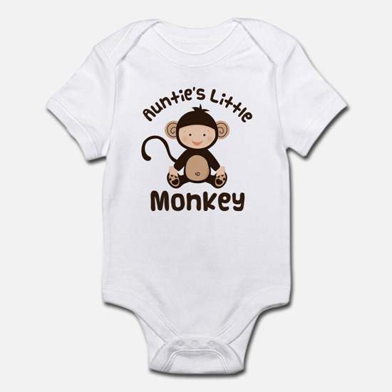 Auntie Monkey Infant Bodysuit