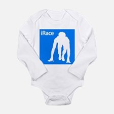 iRace Long Sleeve Infant Bodysuit