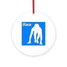iRace Ornament (Round)