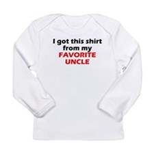 My Favorite Uncle Long Sleeve T-Shirt