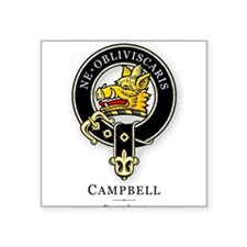 Clan Campbell Rectangle Sticker