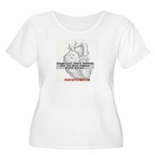 Most Common Birth Defect Plus Size T-Shirt