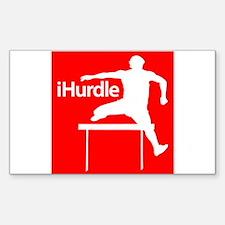 iHurdle Decal