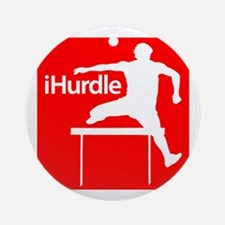 iHurdle Ornament (Round)