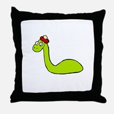 Loch Ness Monster Throw Pillow
