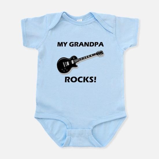 My Grandpa Rocks Body Suit