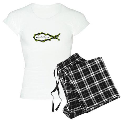Lyme Disease Awareness Women's Light Pajamas