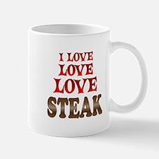 Love Love Steak Mug