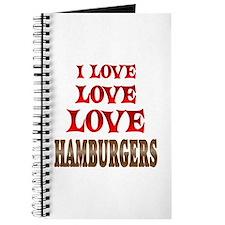 Love Love Hamburgers Journal