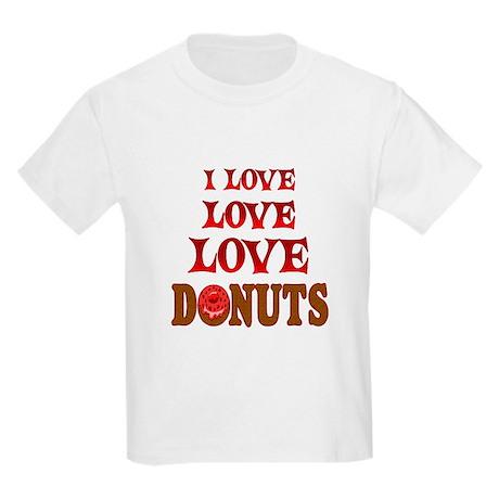 Love Love Donuts Kids Light T-Shirt