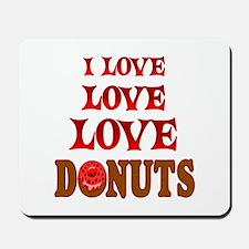 Love Love Donuts Mousepad