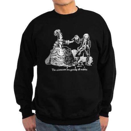 Aristocrats Getting Stabby Sweatshirt (dark)