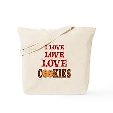 Love Love Cookies Tote Bag