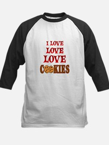 Love Love Cookies Kids Baseball Jersey