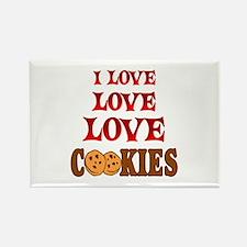 Love Love Cookies Rectangle Magnet