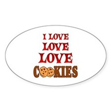 Love Love Cookies Decal