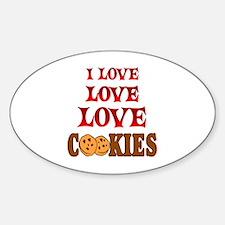 Love Love Cookies Decal